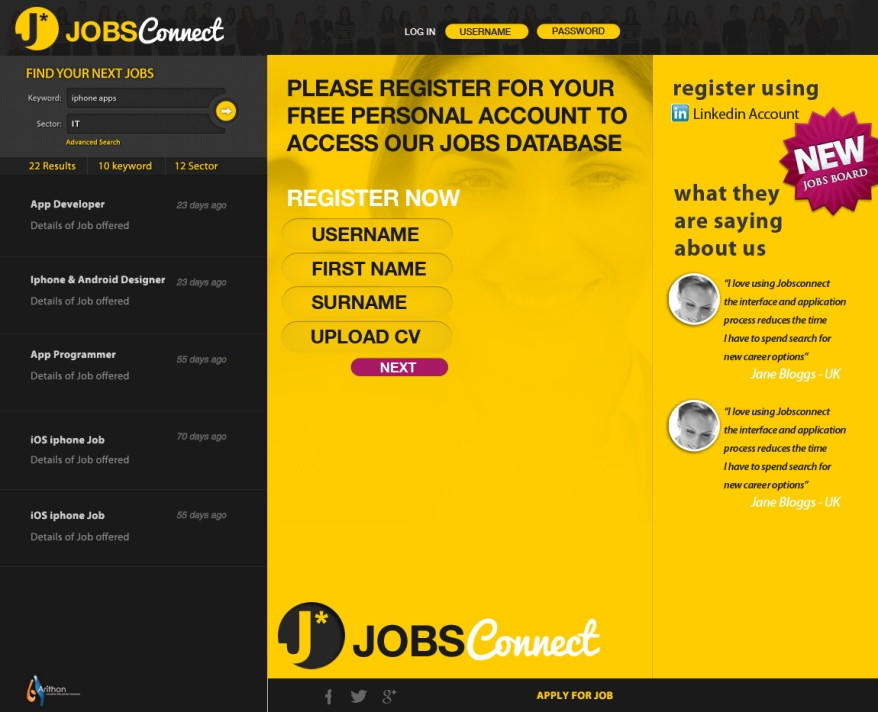 Jobs Connect Login