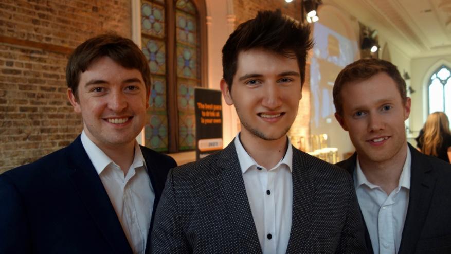 Sean, Aidan, Glenn PP