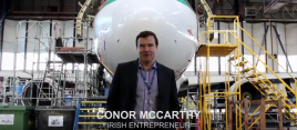 Conor McCarthy, Chief Executive of Dublin Aerospace