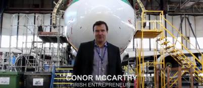 Conor McCarthy, Chief Executive of Dublin Aerospace