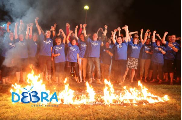 DEBRA Firewalking Event
